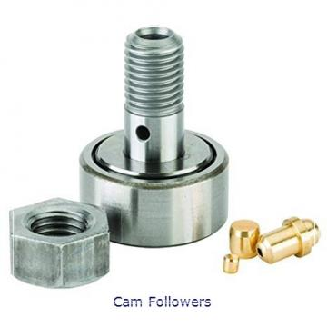 INA PWTR35-2RS Crowned & Flat Yoke Rollers