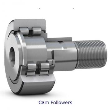 INA KR22 Crowned & Flat Cam Followers