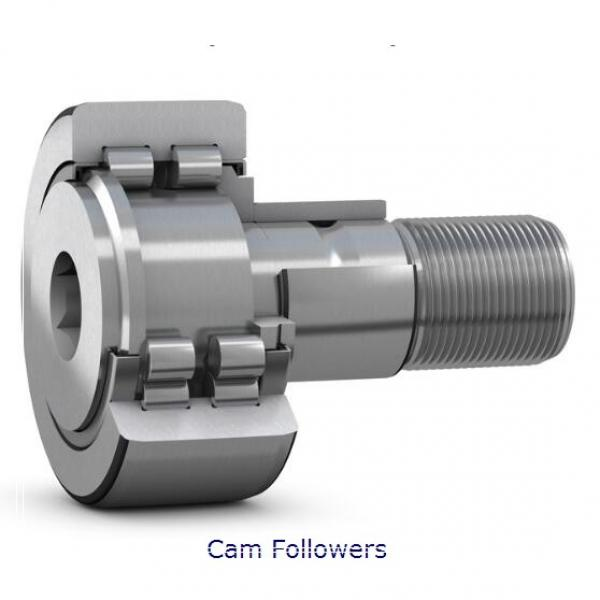 INA KRV52-X-PP Crowned & Flat Cam Followers #1 image